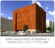 EDIFICIO PARA EL CENTRO DE REGULACIÓN Y CONTROL C.R.C., C.T.C. Y C.P.S. en León