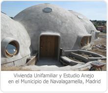 PROYECTO DE EJECUCIÓN DE EDIFICACIÓN DE 1 VIVIENDA UNIFAMILIAR Y ESTUDIO ANEJO EN EL MUNICIPIO DE NAVALAGAMELLA – MADRID.