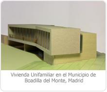 PROYECTO DE EJECUCIÓN DE EDIFICACIÓN DE 1 VIVIENDA UNIFAMILIAR EN EL MUNICIPIO DE BOADILLA DEL MONTE – MADRID.