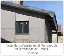 PROYECTO DE EJECUCIÓN DE EDIFICACIÓN DE 1 VIVIENDA UNIFAMILIAR EN EL MUNICIPIO DE NAVARREDONDA DE GREDOS – ÁVILA.