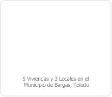 PROYECTO DE EJECUCIÓN DE EDIFICACIÓN DE 5 VIVIENDAS Y 3 LOCALES EN EL MUNICIPIO DE BARGAS. (TOLEDO).