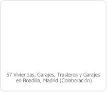 PROYECTO BÁSICO DE 57 VIVIENDAS, TRASTEROS Y GARAJES EN BOADILLA DEL MONTE – MADRID.