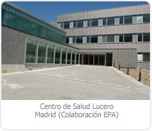 """CENTRO DE SALUD """"LUCERO"""" – MADRID."""