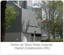"CENTRO DE SALUD ""PASEO IMPERIAL"" – MADRID."