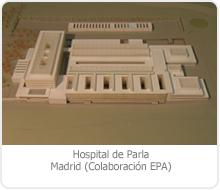 HOSPITAL DE PARLA, (Madrid).
